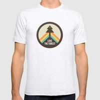 For The Love Of The Fore… Mens Fitted Tee Ash Grey SMALL