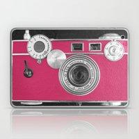 Pink Fashion Camera Laptop & iPad Skin