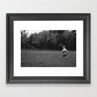 Dandy Field Framed Art Print