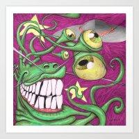 Invasion Phreak Art Print