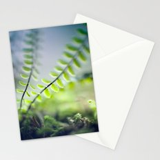 little green Stationery Cards