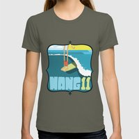 Hang 11 Womens Fitted Tee Lieutenant SMALL