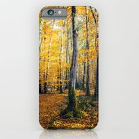 Yellow Trees iPhone 6 Slim Case