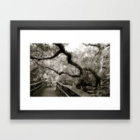 Bridge To ______ Framed Art Print