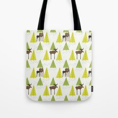 Moose Family 3 Tote Bag