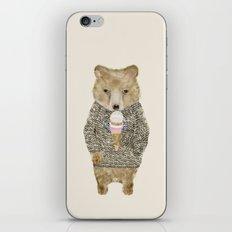 sundae bear iPhone & iPod Skin