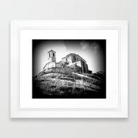 Spanish Iglesia Framed Art Print