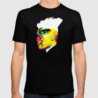 mugshots 01 Mens Fitted Tee Black SMALL