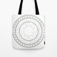 Anime Magic Circle 12 Tote Bag