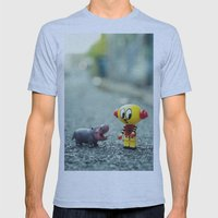 HI!! I told you i don't want a pet!! Mens Fitted Tee Athletic Blue SMALL