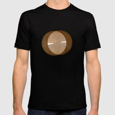 IT'S IN THE WILLOWS Mens Fitted Tee Black SMALL