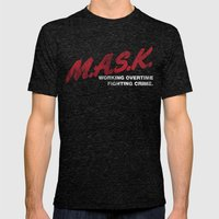 M.A.S.K. Mens Fitted Tee Tri-Black SMALL