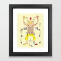 ENVY YOU ENVY ME ! Framed Art Print
