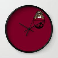 Pocket Dude (01) Wall Clock