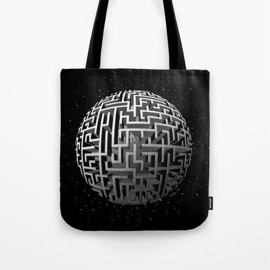 Lost in Space Tote Bag