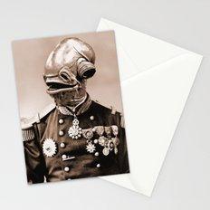 Portrait of Sir Ackbar Stationery Cards
