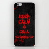 Keep Calm And Call Daryl… iPhone & iPod Skin