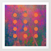 Dotted Abstract Art Print