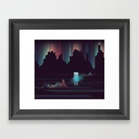 The Adventure Continues … Framed Art Print