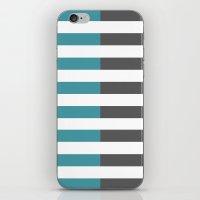 Stripes 2 iPhone & iPod Skin
