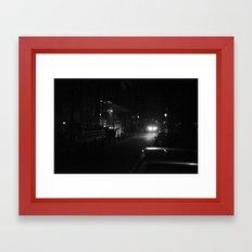 Amsterdam in the Dark Framed Art Print