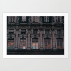 PARIS WINDOWS Art Print