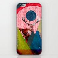 Wonder Wood Dream Mounta… iPhone & iPod Skin