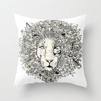The King's Awakening Throw Pillow