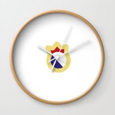 logo madrid Wall Clock