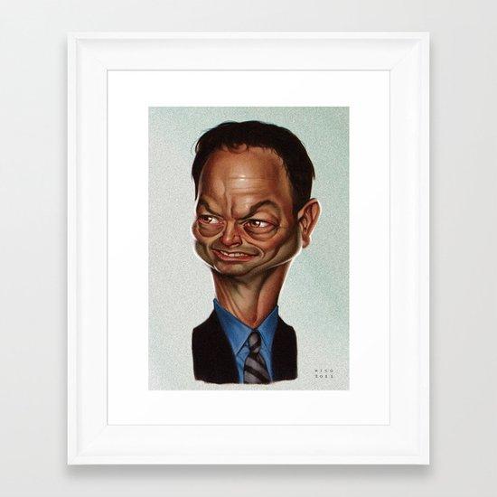 Gary Sinise Framed Art Print