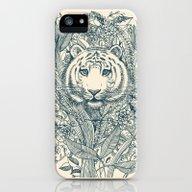 Tiger Tangle iPhone (5, 5s) Slim Case
