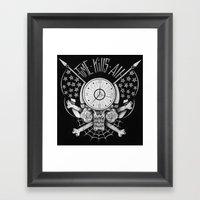 Time Kills All Framed Art Print