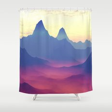 Mountains Of Another Wor… Shower Curtain