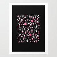 Experimental Art Print