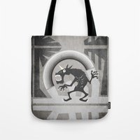 Somewhere Under The Gray… Tote Bag
