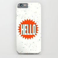 iPhone & iPod Case featuring Hello by Josh Franke