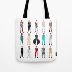 Outfits Of Bowie Fashion… Tote Bag