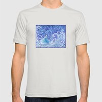 .:Let the Storm Rage On:. Mens Fitted Tee Silver SMALL