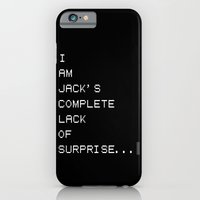 FIGHT CLUB - I am Jack's complete lack of surprise... iPhone 6 Slim Case