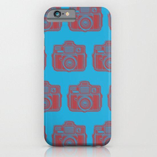 I Still Shoot Film Holga Logo - Blue & Red iPhone & iPod Case