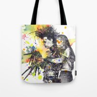 Edward Scissor Hands Tote Bag
