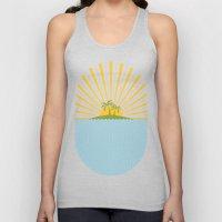 Summer Sun Unisex Tank Top