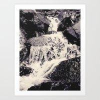 Waterfall 2, Colorado Art Print