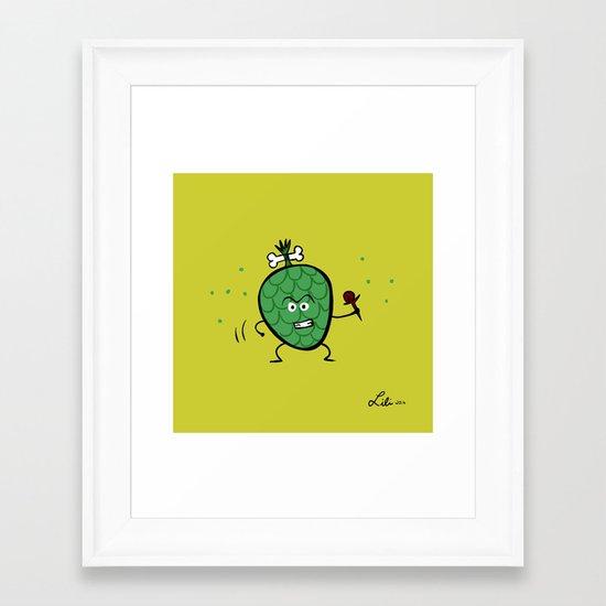 Cherimoya Framed Art Print