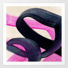 curls 2 Art Print