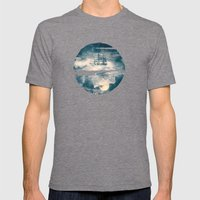 I'll Bring You The MOON Mens Fitted Tee Tri-Grey SMALL