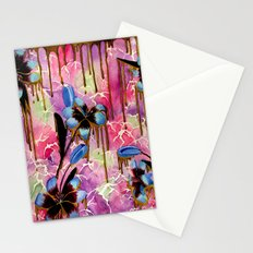 Breaking Down Time Stationery Cards