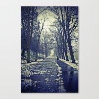 A walk through the park I Canvas Print