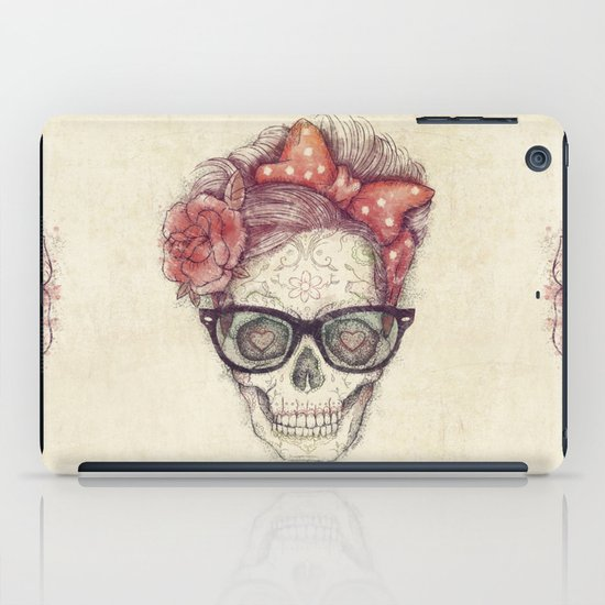 Hipster Girl is Dead iPad Case