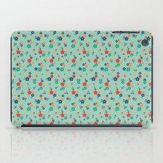blossom ditsy in grayed jade iPad Case